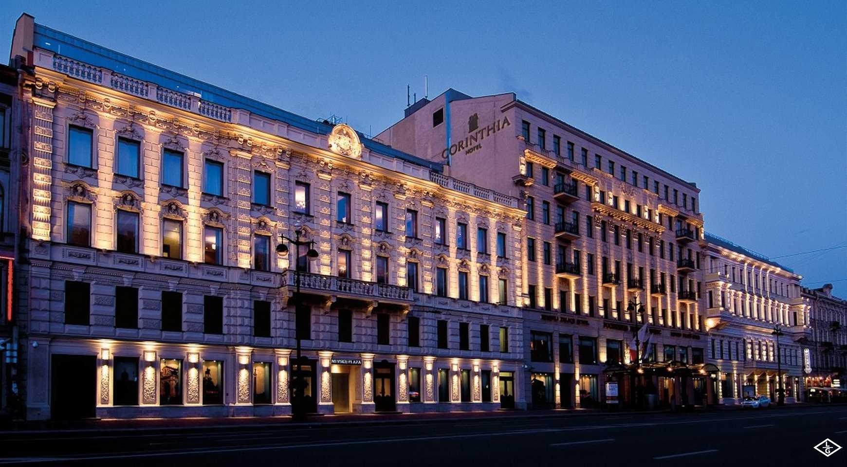 «Коринтия Санкт-Петербург» удостоен статуса «Ведущего конференц-отеля России»