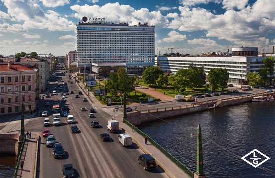 Азимут Отель Санкт-Петербург , корпус  Запад